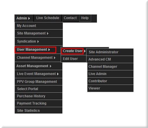 Create User Control Panel