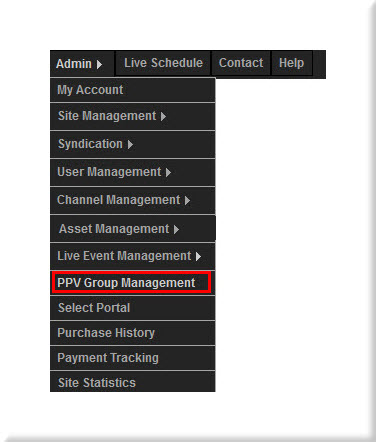 PPV Admin