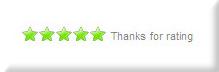 Five-Star Rating Display